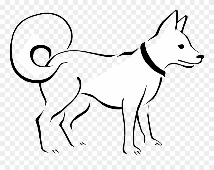 Dog Black And White Dog Clip Art Black And White Free Dog Clipart Black N White Png Download 4303 Pinclipart