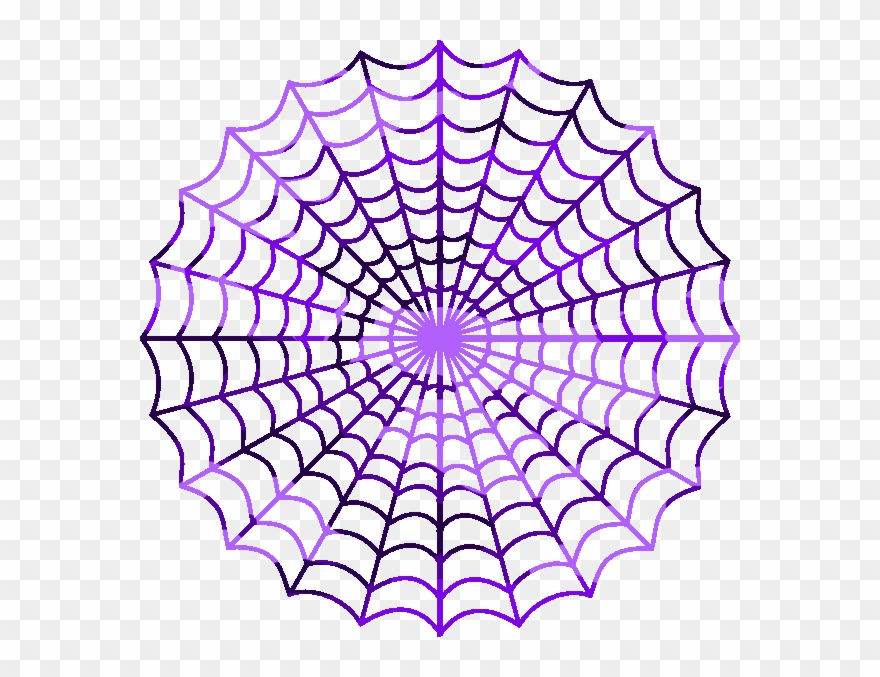 Purple Spider Clipart