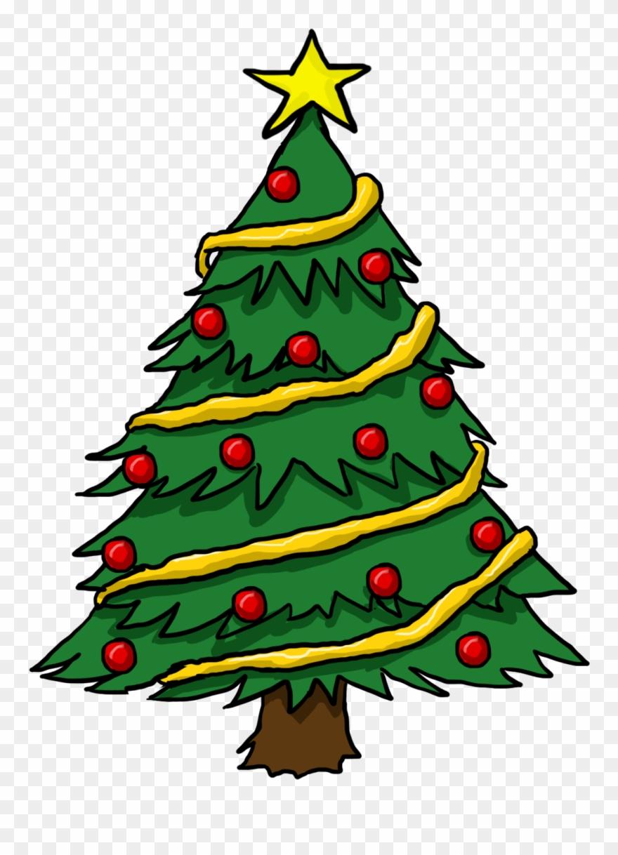 Free To Use Public Domain Christmas Tree Clip Art