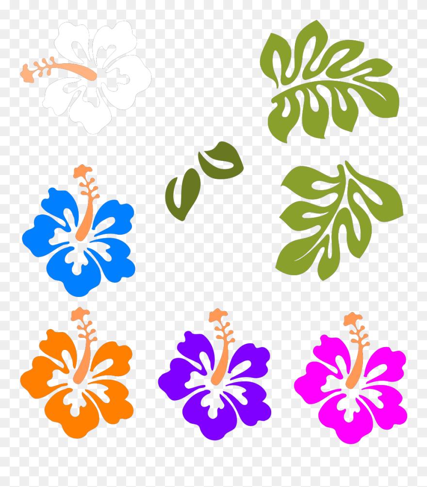 Download Flor Moana Clipart Hawaii Clip Art Luau Graphics - Flores
