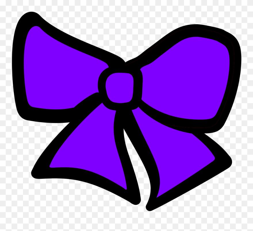 Bow hair. Stunt clipart cheer clip