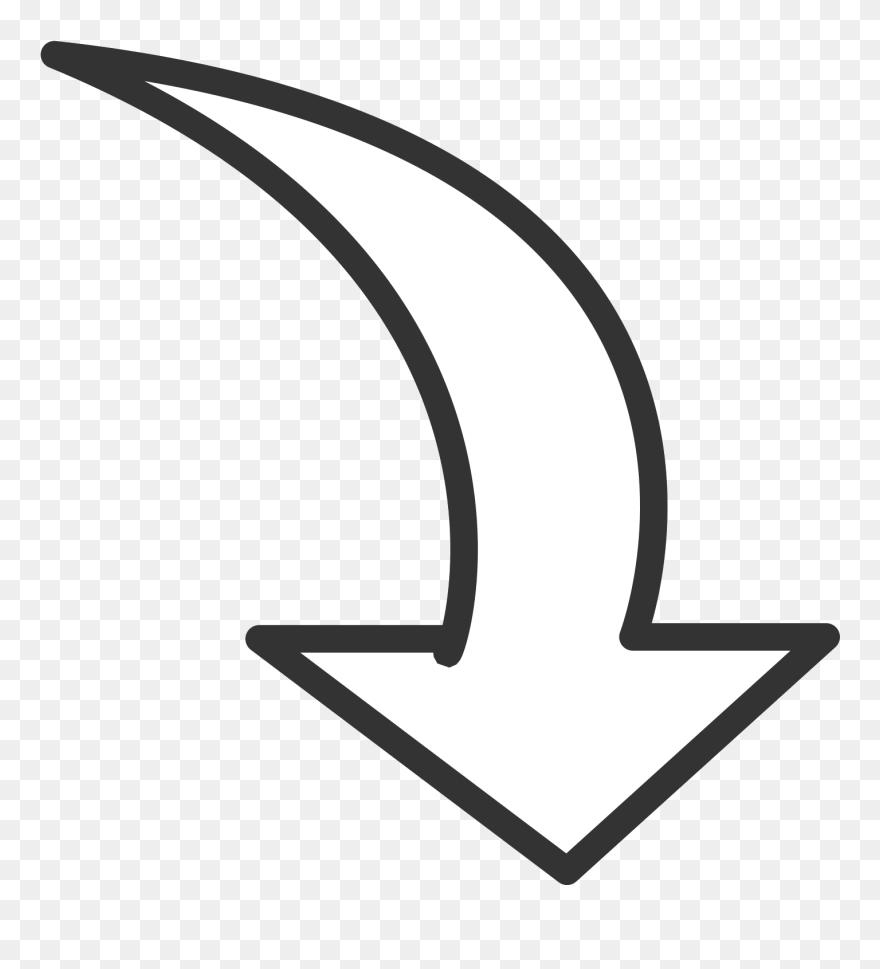 Circular Arrow Outline - Free Arrow Clipart Png Transparent