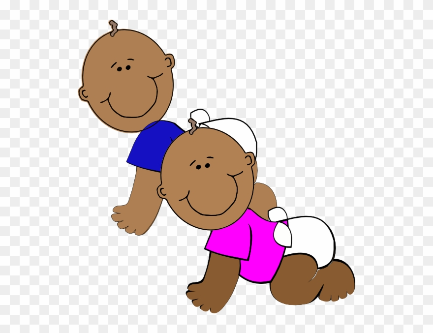 This Free Clip Arts Design Of African American Twins Cartoon Black Baby Twins Png Download 6116 Pinclipart