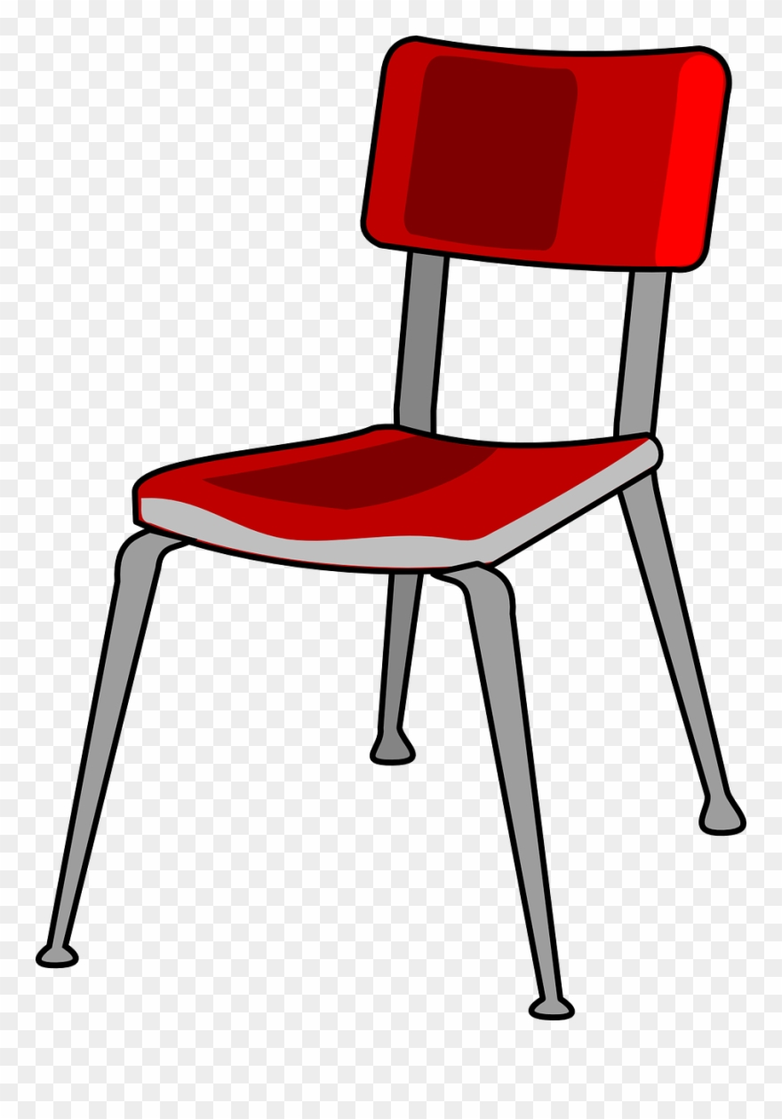 Prime Chair Red Metal Free Vector Graphic On Pixabay School Home Interior And Landscaping Ologienasavecom