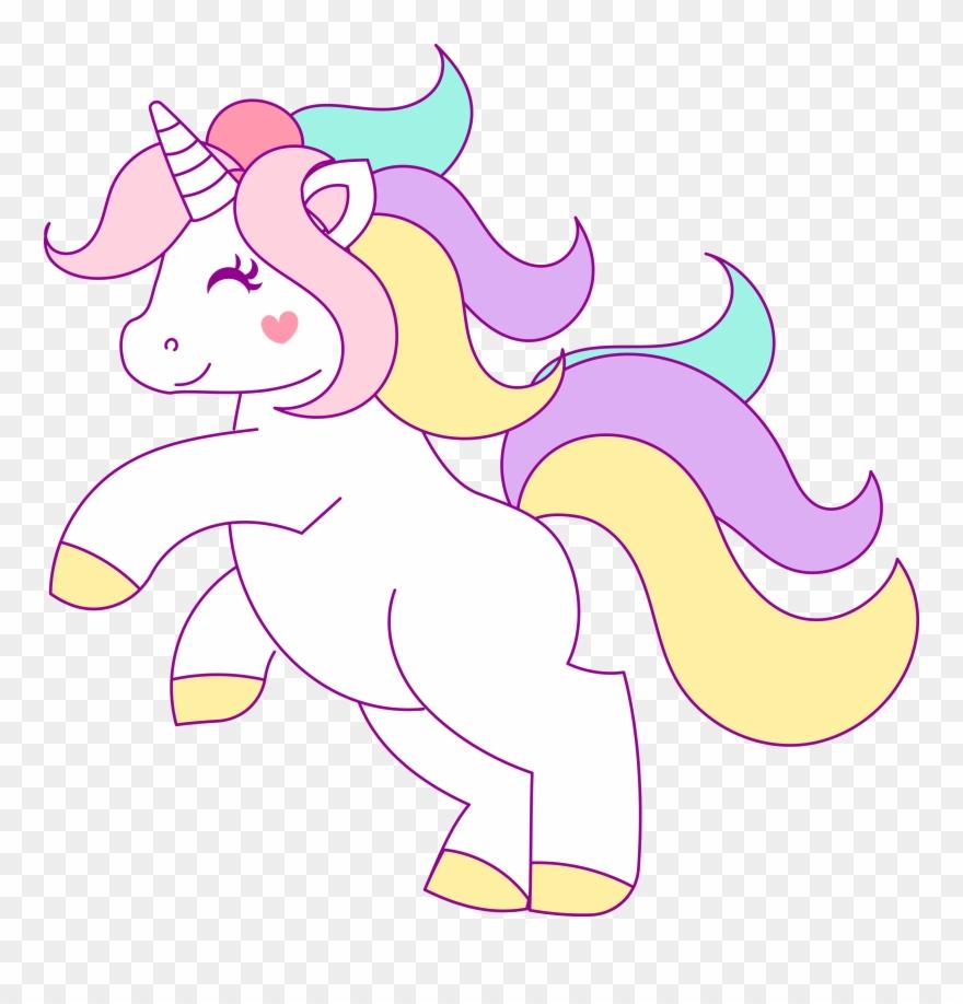 Free Hand Drawn Unicorn Clip Art - Unicorn Clipart Unicorn
