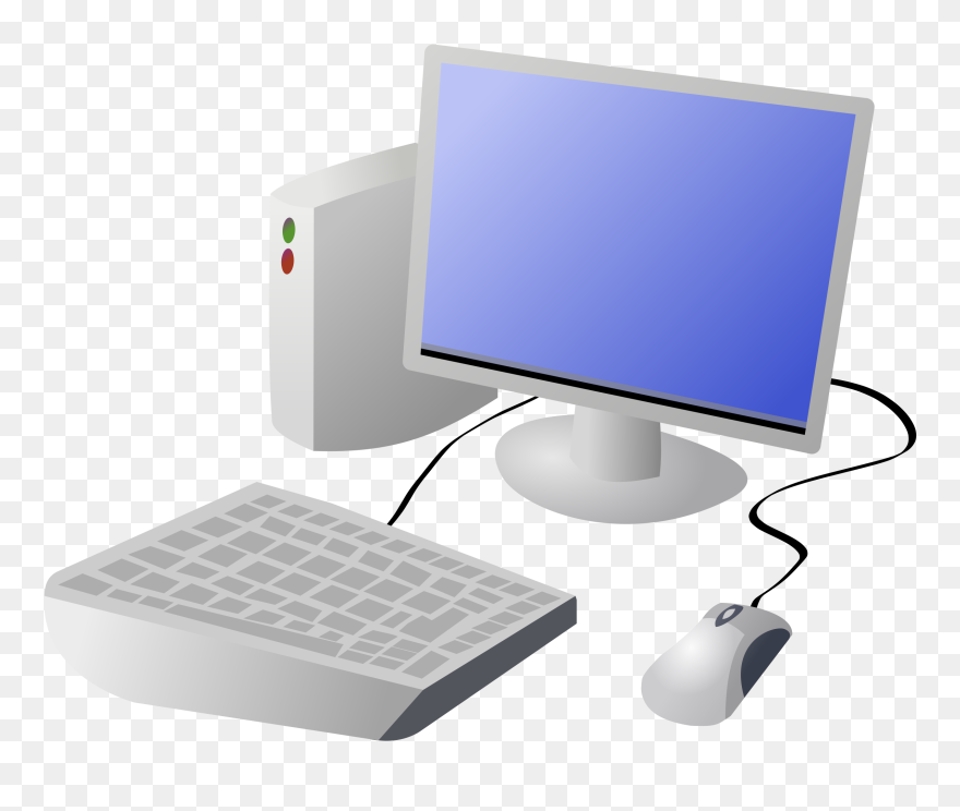 7345a4a555f Computer Clip Art For Teachers Free Clipart Images - Transparent Background  Computer Clipart - Png Download