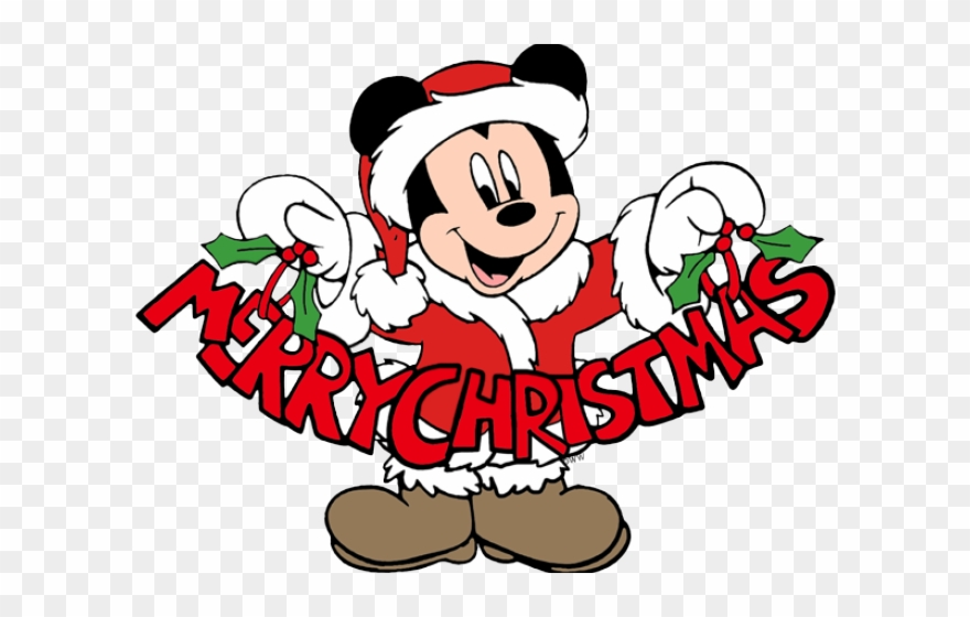 Merry Christmas Clip Art.Original Disney Merry Christmas Clipart Png Download
