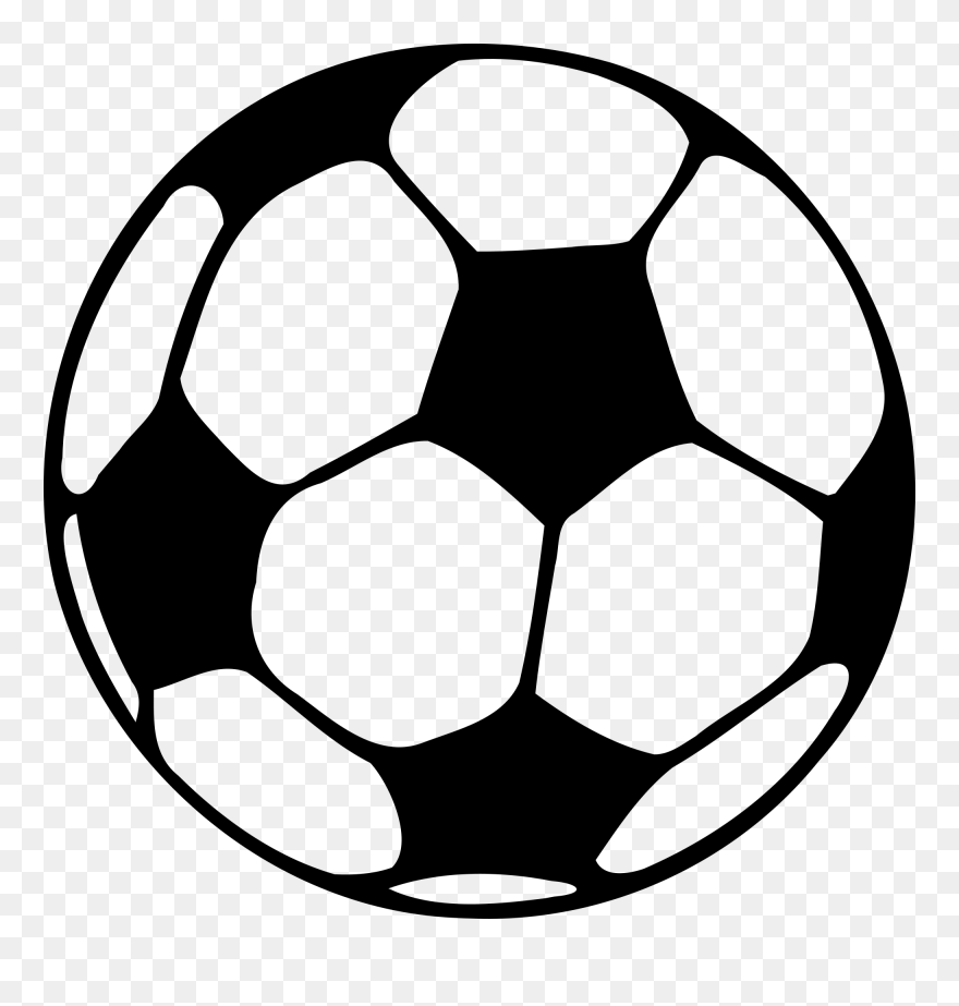 picture relating to Soccer Ball Template Printable referred to as Printable Soccer Template American Soccer Ball - Football