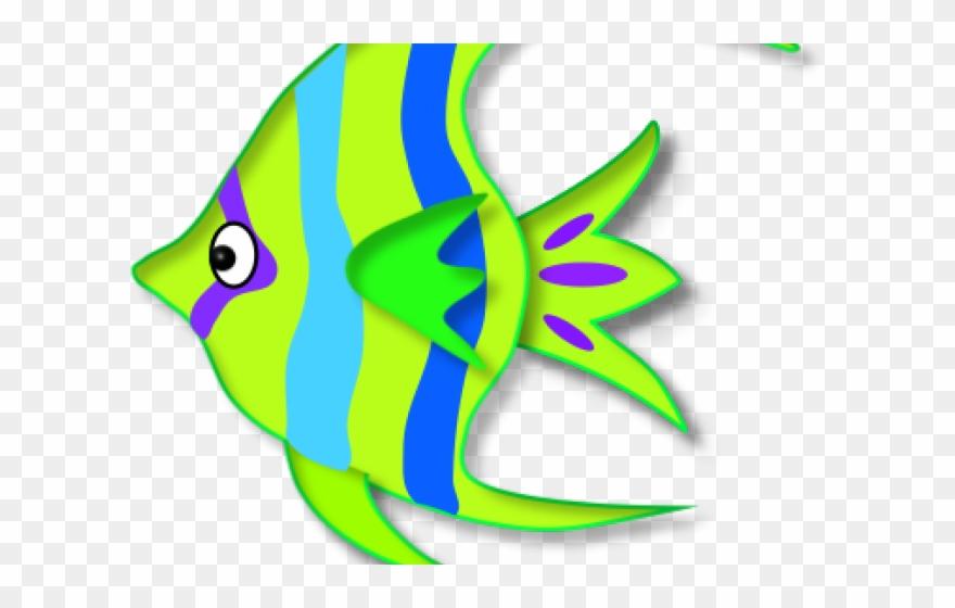 Tropical Fish Clipart Colored Clip Art Png Download