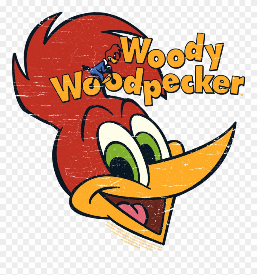 f24ee7fd2 Woody Woodpecker Retro Logo Baby Bodysuit - Hoodie Clipart (#7909 ...