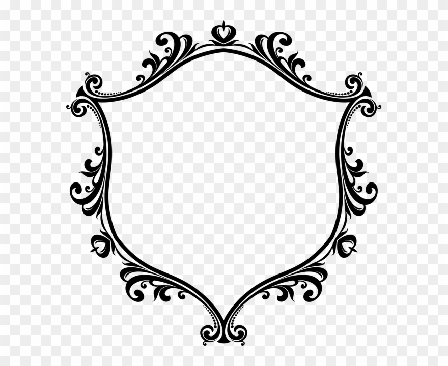 clipart victorian brooche lrg1 | Free to use in your art, bu… | Flickr