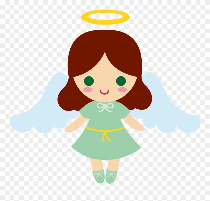 Cartoon Angel Clipart Little Angel Angel Cartoon Png Download 8336 Pinclipart