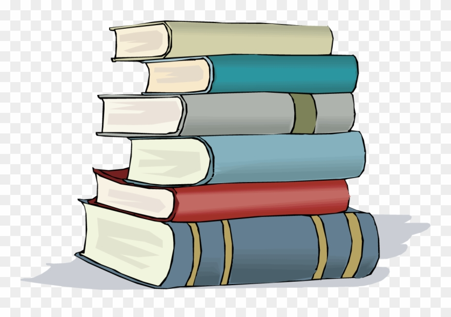 Cartoon Stack Of Books Free Image Clipart Stack Of Books