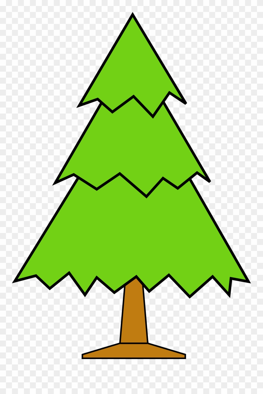 Christmas Tree Clipart Outline.Clipart Christmas Tree Outline Transparent Background