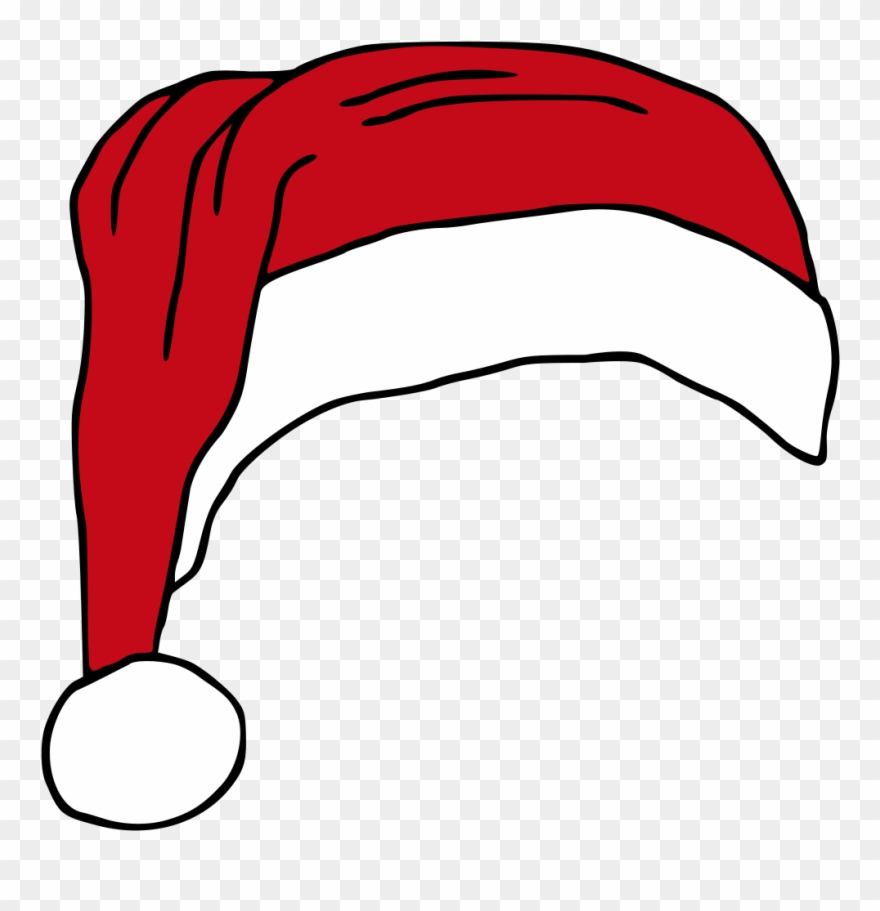 Christmas Hat Cartoon Transparent.Santas Hat Hat Vector Royalty Free Clipart Christmas