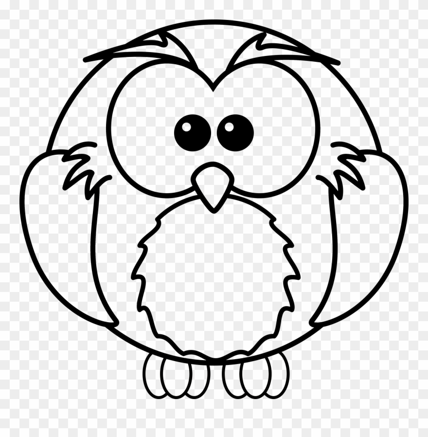 600 Top Coloring Pages Of Cartoon Owls  Images