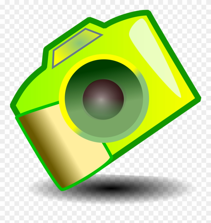 Print Save This Clip Art - Camera Logo Effect For Photo Editing
