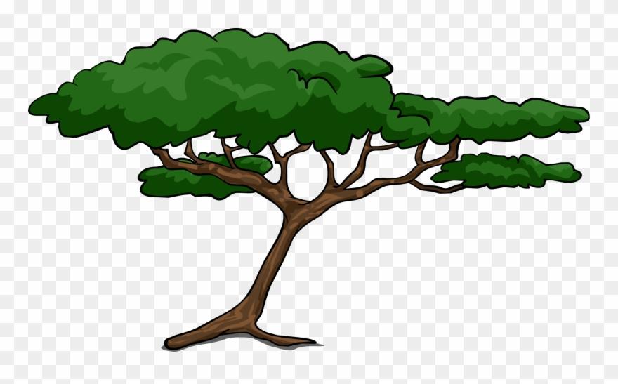 Tree Clipart Safari Acacia Tree Clipart Png Download 995