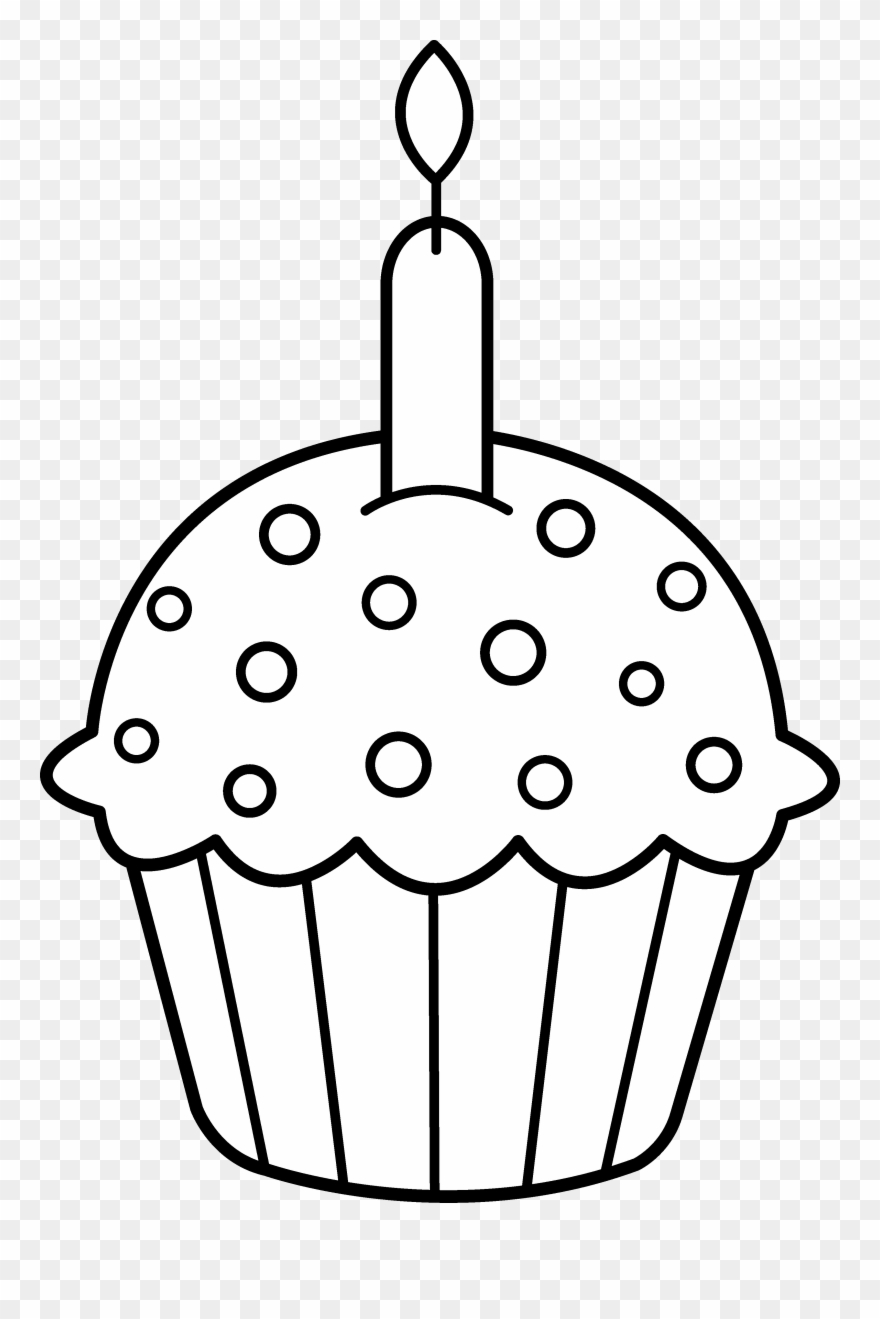 850 Top Birthday Cupcakes Coloring Pages Images & Pictures In HD