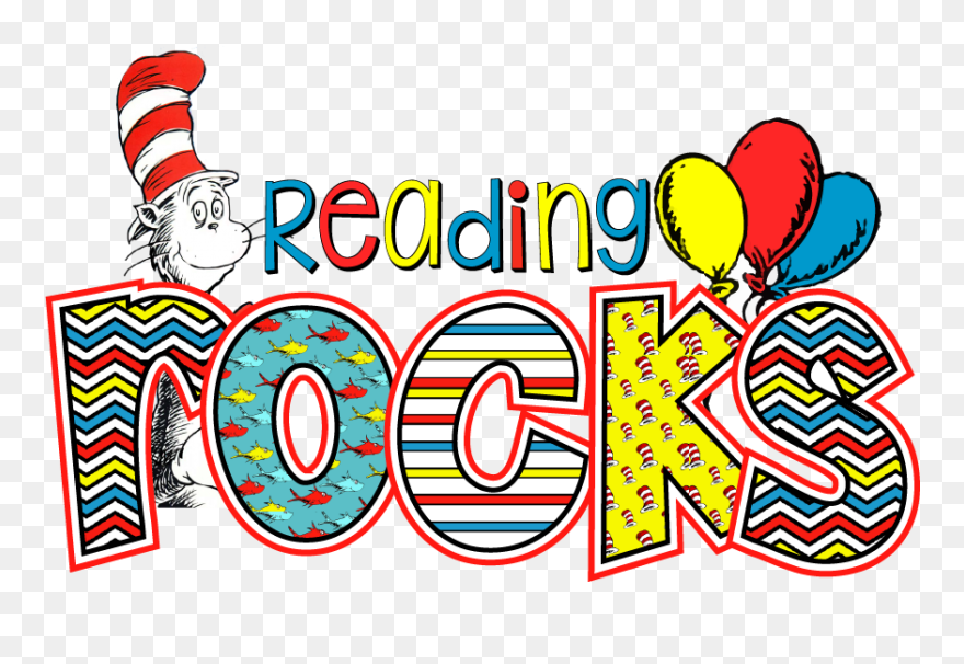 Download Dr Seuss Read Clipart Read Across America - Dr Seuss Reading Clipart - Png Download