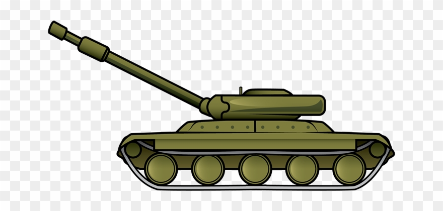 This Military Tank Clip Art Is Great For Use On Your - Ww2 Tank Clip