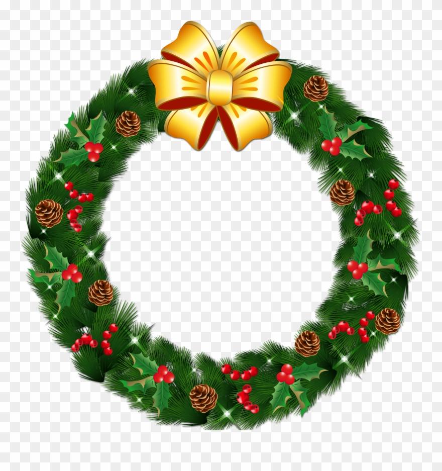 Christmas Wreath Png Transparent.Christmas Wreath Png Clipart Christmas Wreath Transparent