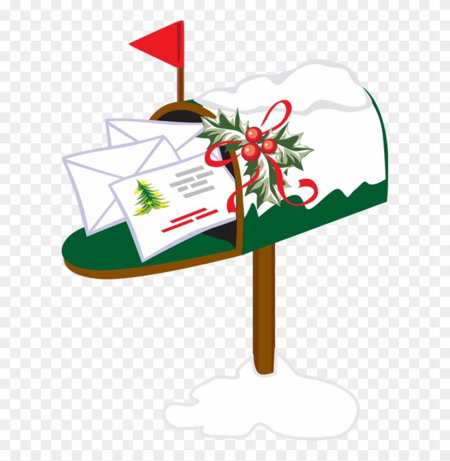 Christmas Mailbox.Mailbox Clipart Holiday Christmas Mailbox Clipart Png