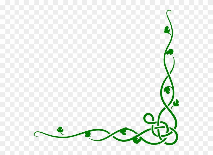 Ivy Clipart Green Vine Vines Clipart Border Png Download 13561