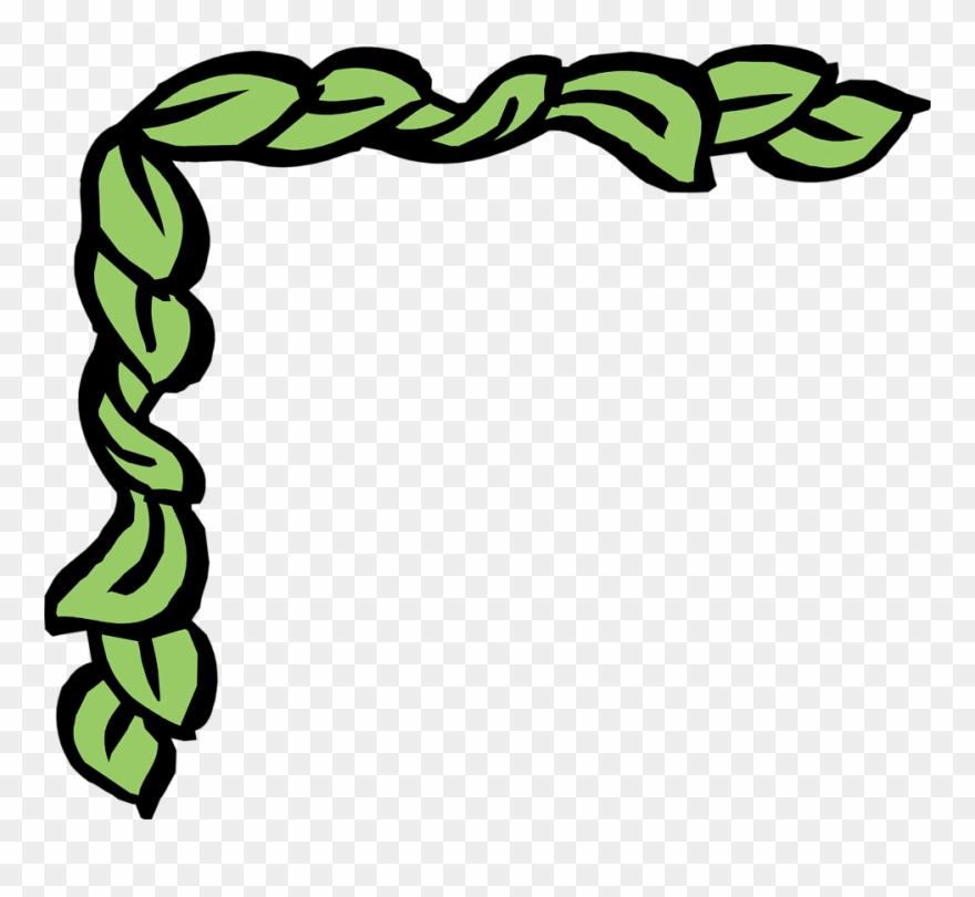 Ivy Clipart Corner Ivy Border Greek Borders Clip Art Png