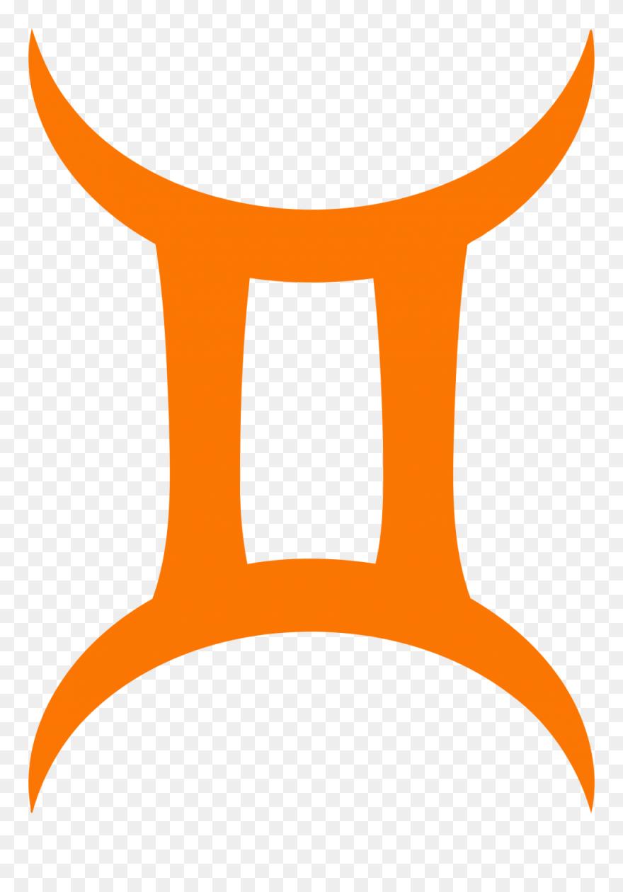 Gemini Png Clipart Gemini Symbol Clip Art - Signo De Geminis