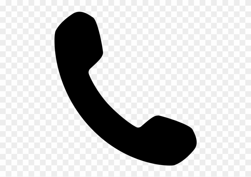 Clipart Of Phone Handset - Phone Icon Svg - Png Download