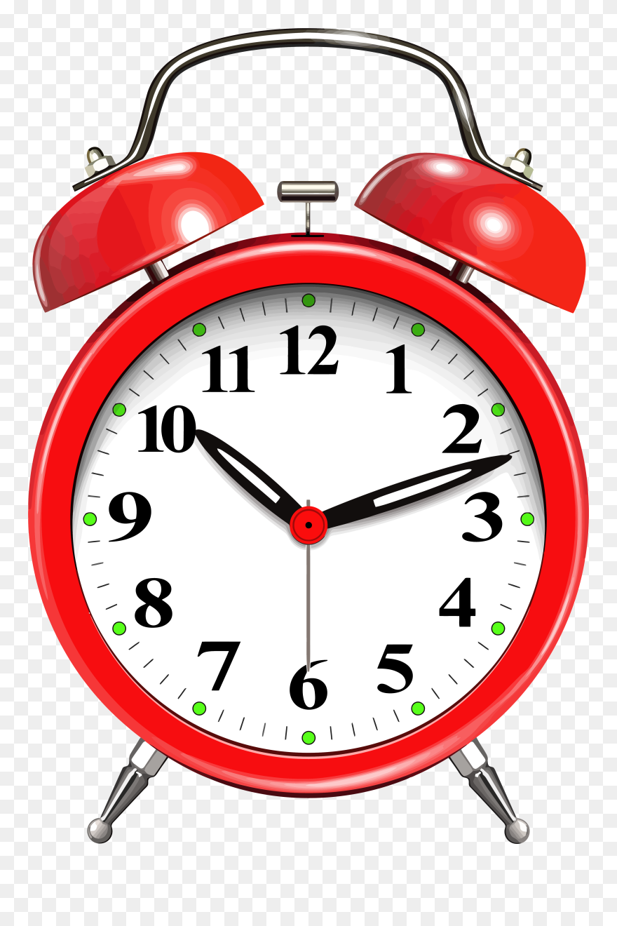 Alarm Clock Red Png Clip Art - Excuse Me, Your Life Is Waiting: The
