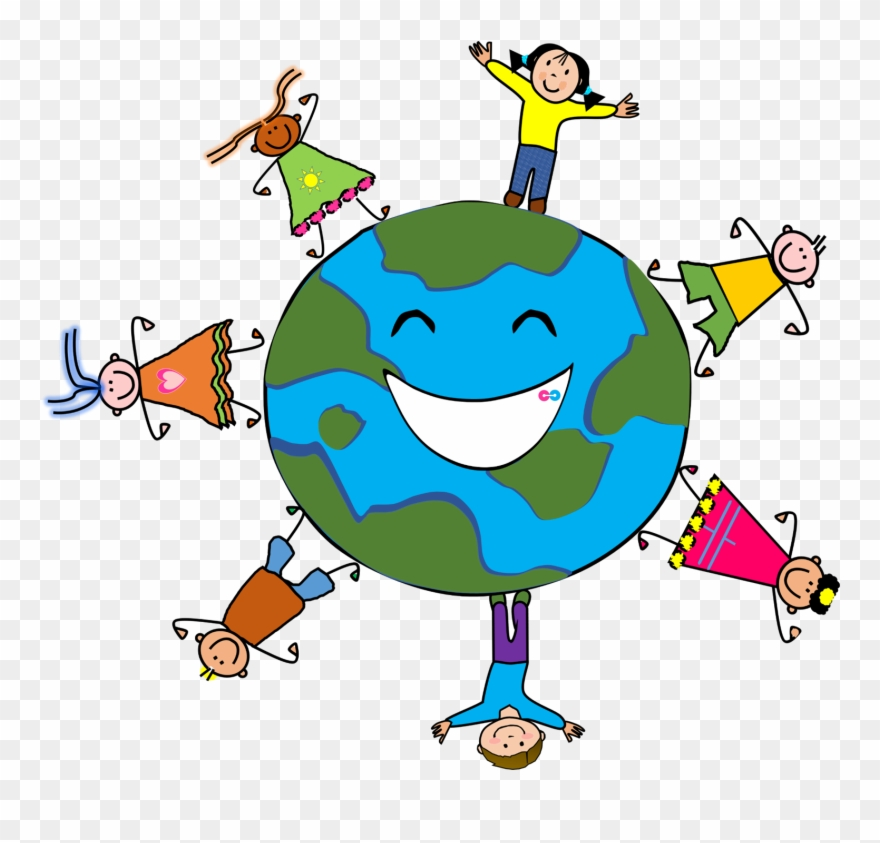 Club Clipart Friendly Kid Save The Earth Clipart Png Download