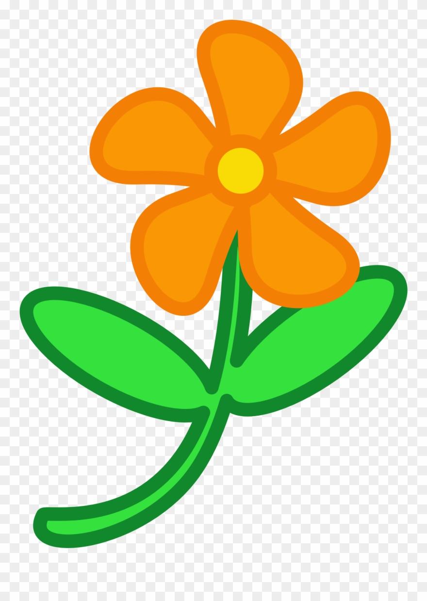 Animated flower. Fall flowers clip art
