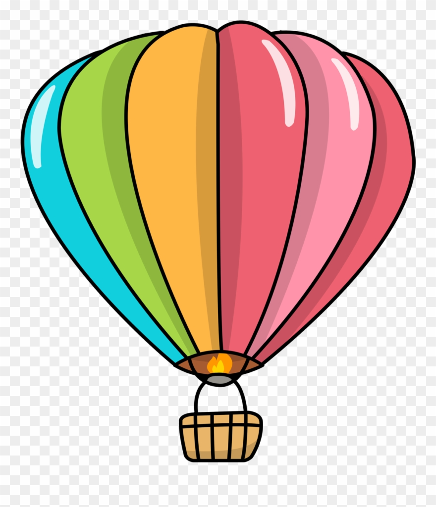 photo about Printable Hot Air Balloon identified as Cartoon Imagine Of Balloon - Very hot Air Balloon Cupcake Topper