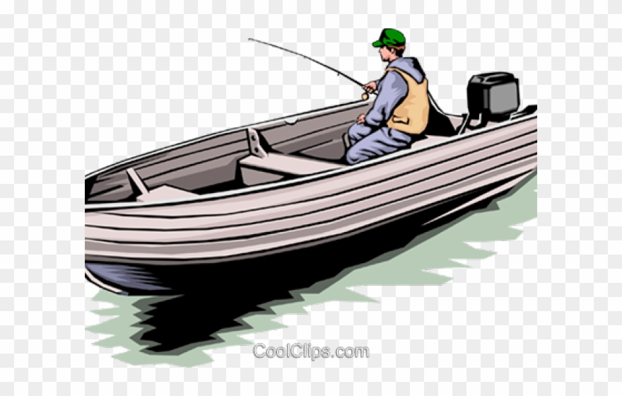 Fishing Boat Clipart Skiff Fishing Boat Png Download 16626 Pinclipart
