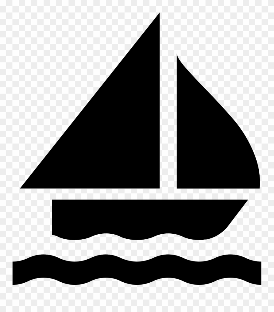 Download Sailing Boat Silhouette Svg Png Icon Free Download Sailing Icon Clipart 17173 Pinclipart