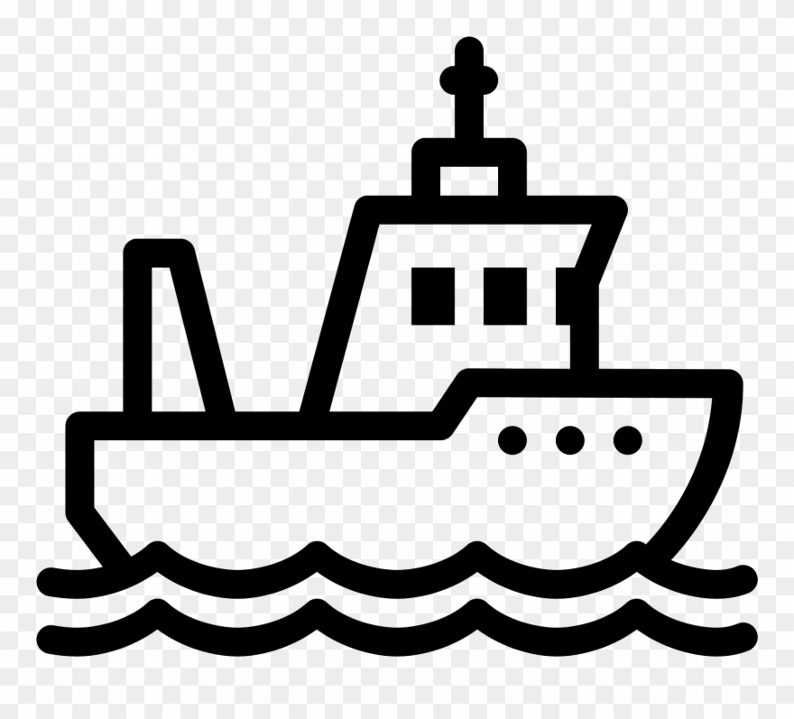 Download Svg Architecture Vector Icon Fishing Boat Icon Clipart 17368 Pinclipart