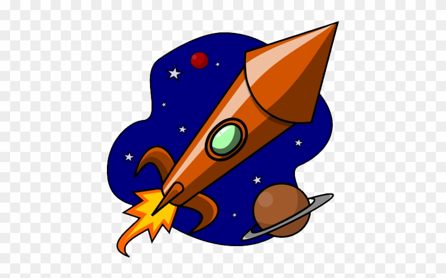 Clipart Rocket Ship