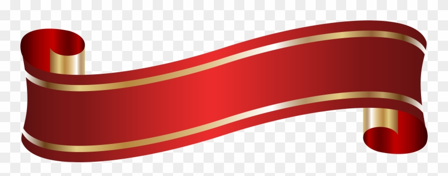 Elegant Banner Red Png Clip Artu200b Gallery Yopriceville