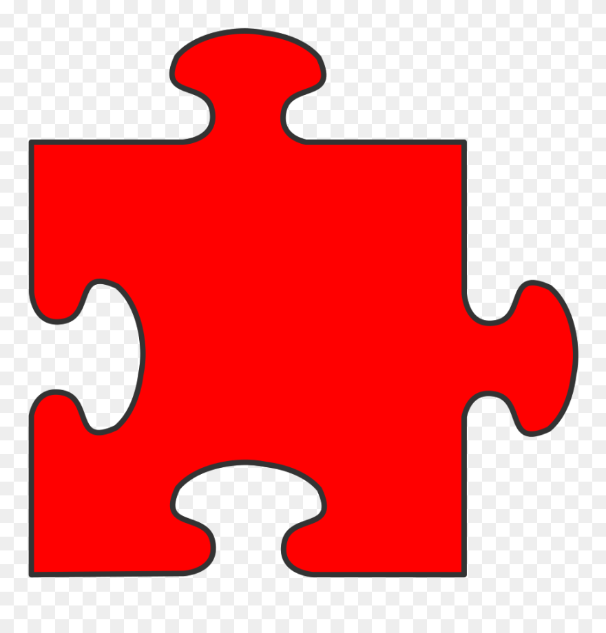 Puzzle piece border. Clipart free clip art