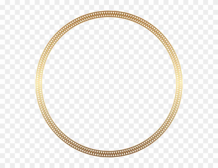 1879b73cd041 Round Frame Border Gold Clip Art - Costco Wholesale Korea - Png Download