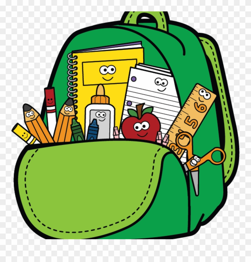 Back to school melonheadz. First day of clipart