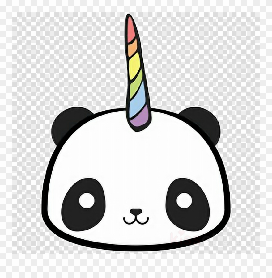 Download Kawaii Panda Unicorn Clipart Giant Panda T Shirt
