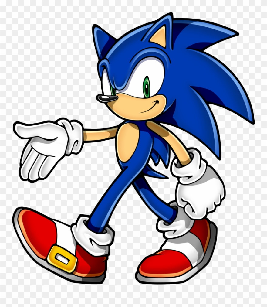 Sonic Clip Art Sonic The Hedgehog Png Download 104371 Pinclipart