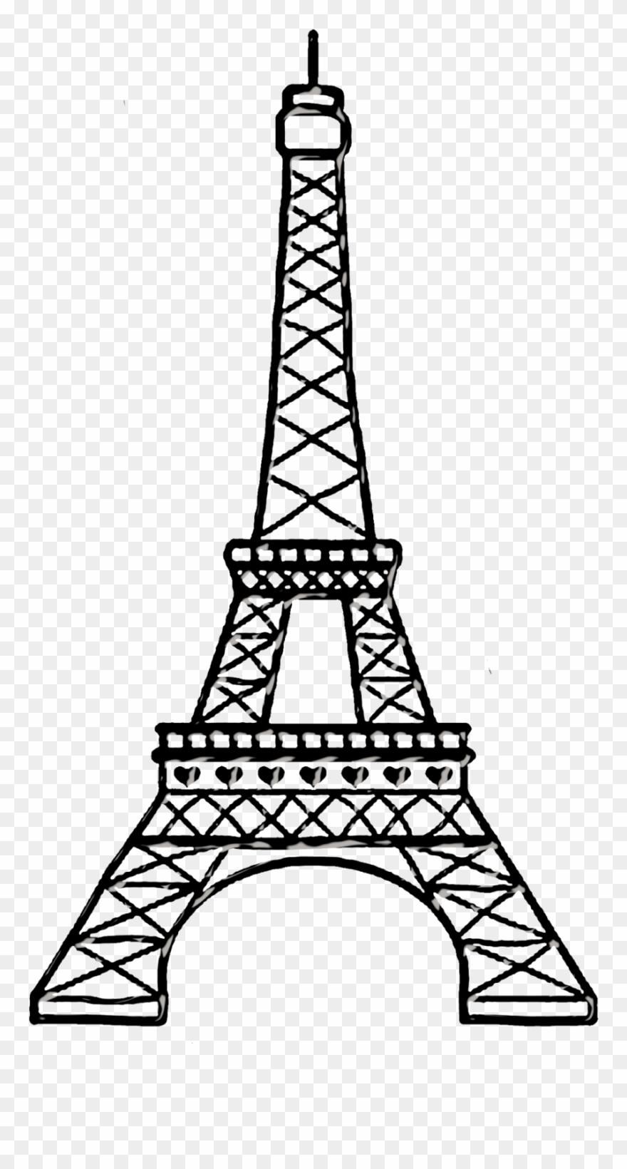 Bello Clipart Torre Eiffel Para Dibujar Png Download 105879 Pinclipart