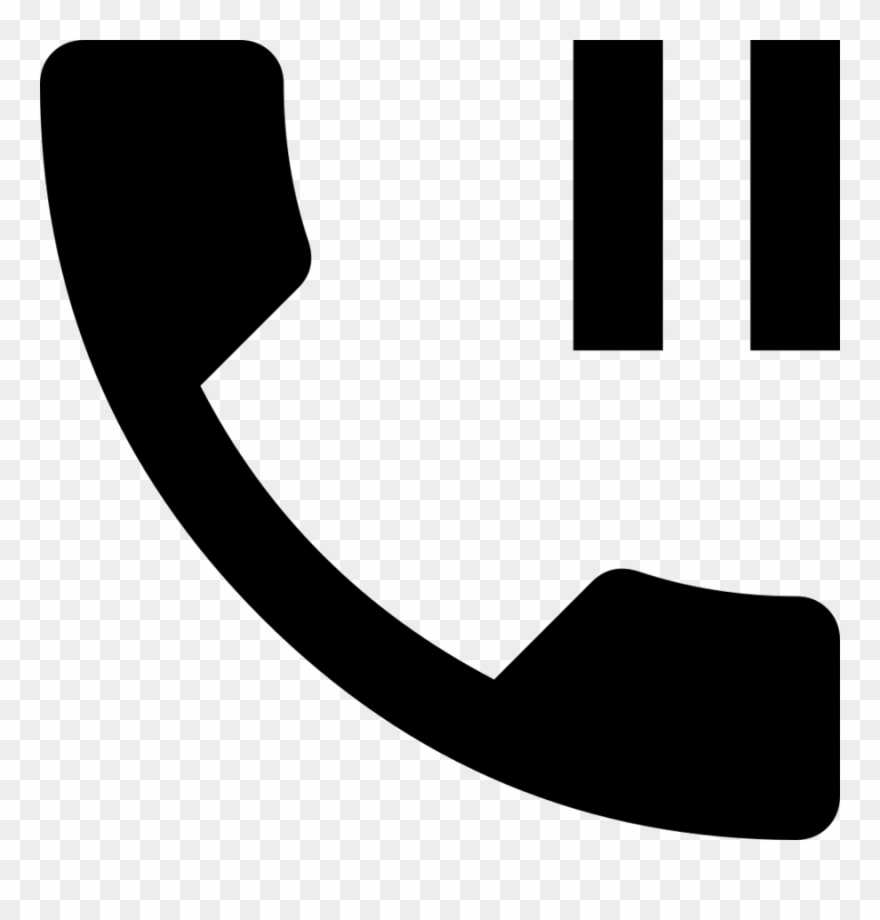 Download Icono Telefono Pausa Clipart Computer Icons - Telephone On Hold Icon - Png Download