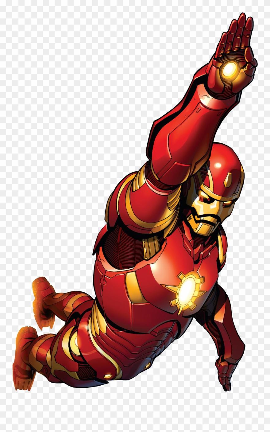 Iron man clipart animated transparent iron man model 45 - Iron man cartoon download ...