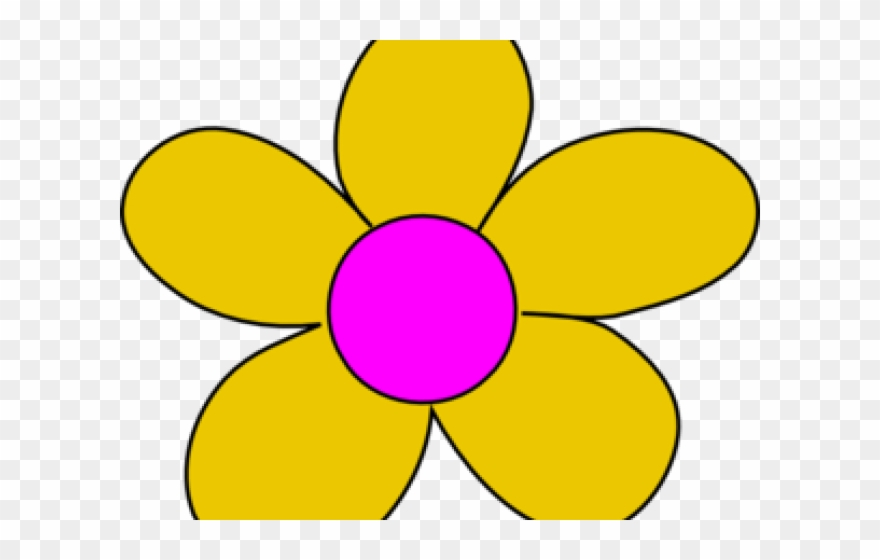 Flower yellow. Clipart png download pinclipart