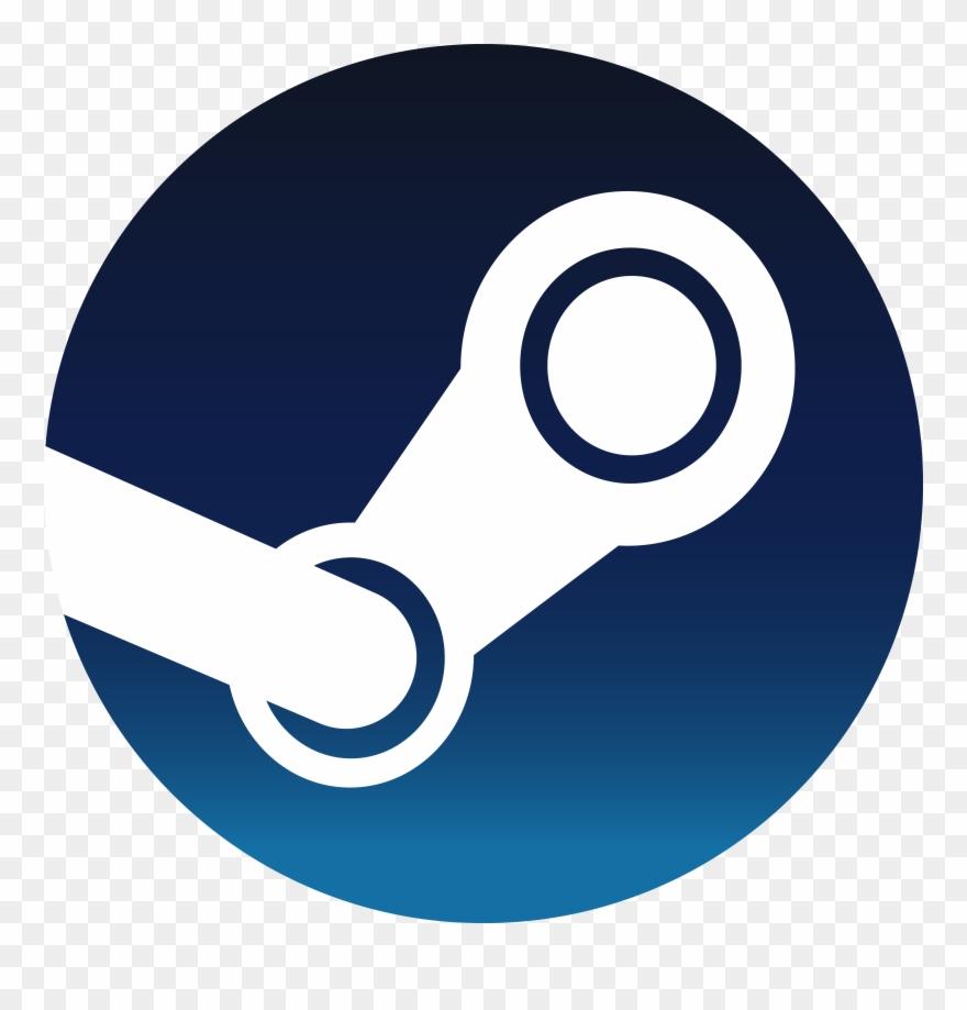 New Steam - Steam Logo Png Clipart (#1003109) - PinClipart